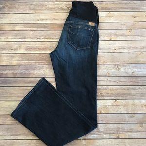Paige Laurel Canyon Maternity Boot Cut Jeans